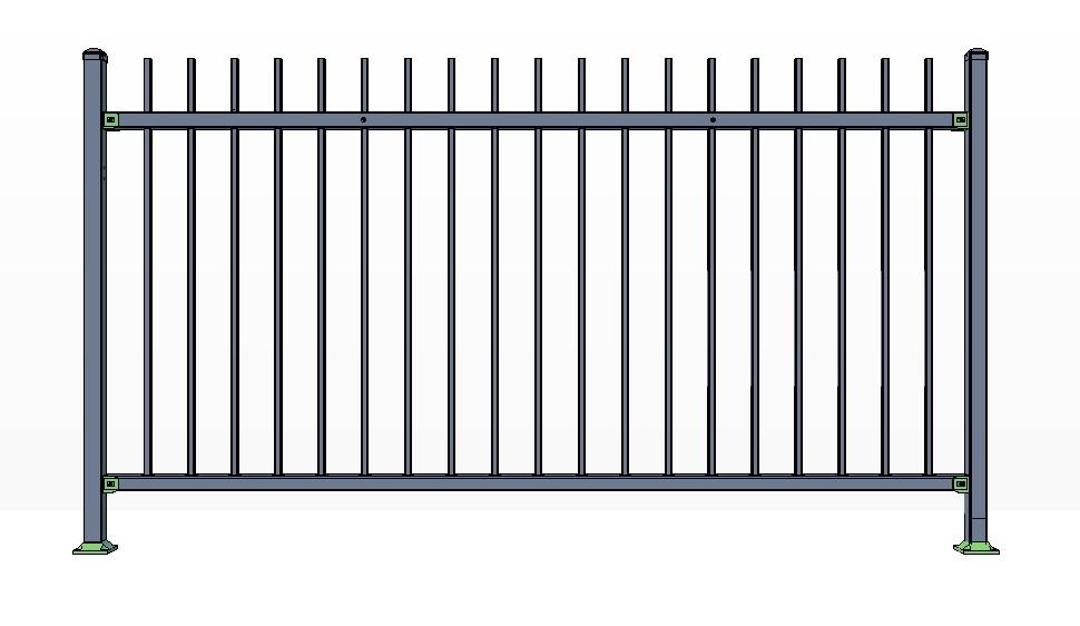 2-Rail KILLINGTON Fence Panels