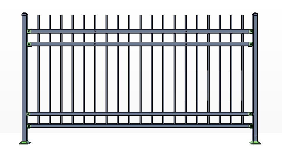 4-Rail KILLINGTON Fence Panels