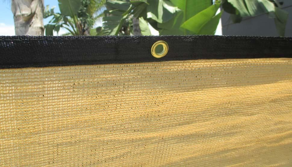 Tan Privacy Screen